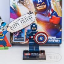 Фигурка Лего -  Капитан Америка