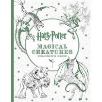Раскраска антистресс Гарри Поттер Магические существа и места их обитания