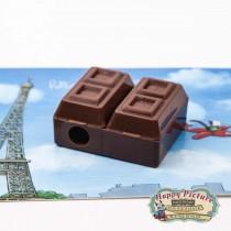 """Точилка с ластиком """"Шоколадка"""""""