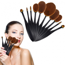 Набор кистей-счеток  для макияжа Mermaid Multipurpose makeup brush (10 штук)