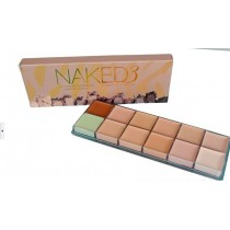 Тональный крем для лица  Naked 3 (Urban decay) 12 цветов
