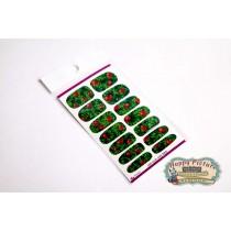 Слайдеры для ногтей (10см*6см) Клубника