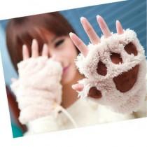 Перчатки  в виде кошачьих лапок