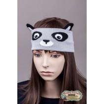 Повязка на голову в виде панды