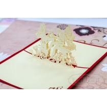 "3D открытка ""Ангелочки"""