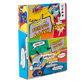 """Набор открыток в коробке-стенде """"Коты супергерои""""  (160 открыток)"""