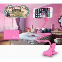 Гнущийся держатель для телефона (розовый)