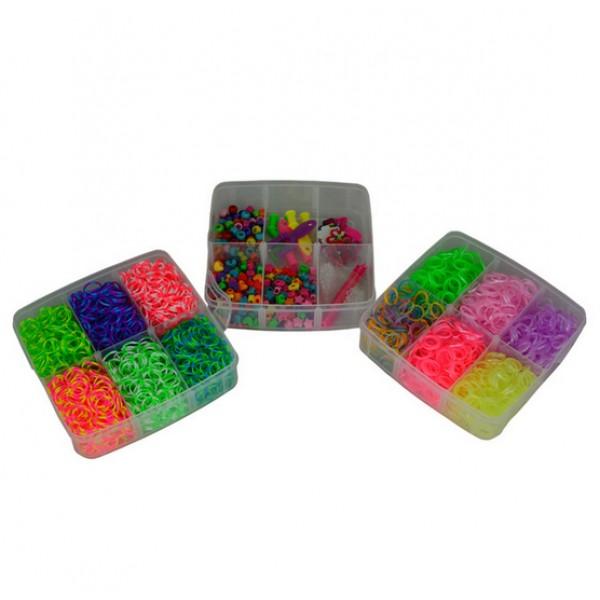 Резиночки для плетения браслетов брелки