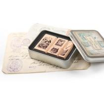 Набор печатей Алиса в стране чудес  Quartet Stamp 03 (4шт.)