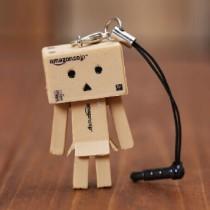 Заглушка в порт наушников картонный человечек Данбо