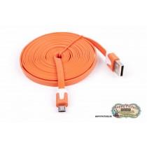 Провод заряд. microUSB  широкий  (дл. 2 метра)
