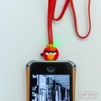 Провод зарядн.на Айфон 5/5s Angry Birds (дл. 1 метр)