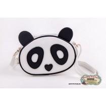 Мини сумочка в форме мордочки панды (материал: кож.зам.)