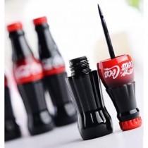 Подводка для глаз в  форме бутылочки Кока колы (черная)