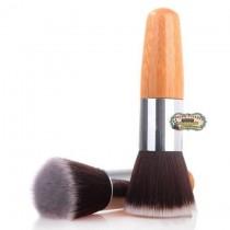 Кисть для макияжа  больш. дерев ручка