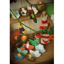 Набор новогодних открыток и конвертов christmas card set 2