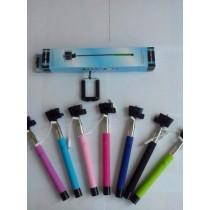 Монопод для селфи / селфипалка с проводком
