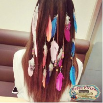 Перья для вплетания в волосы