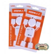 """USB-HUB 4 портовый """"Человечек"""""""